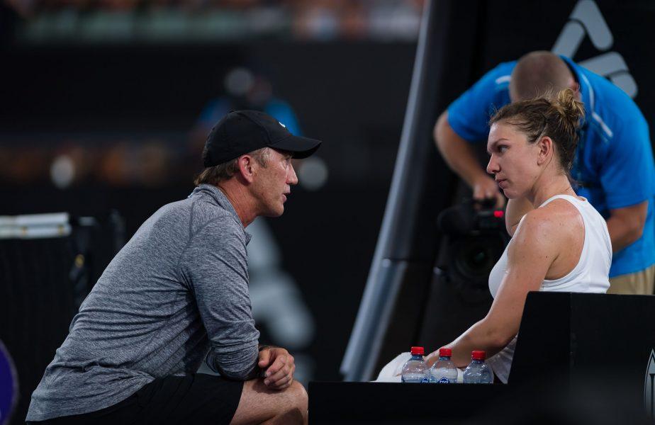 """Simona Halep, discuție cu Darren Cahill despre retragerea din tenis: """"Vreau să mai câștig Grand Slam-uri"""""""