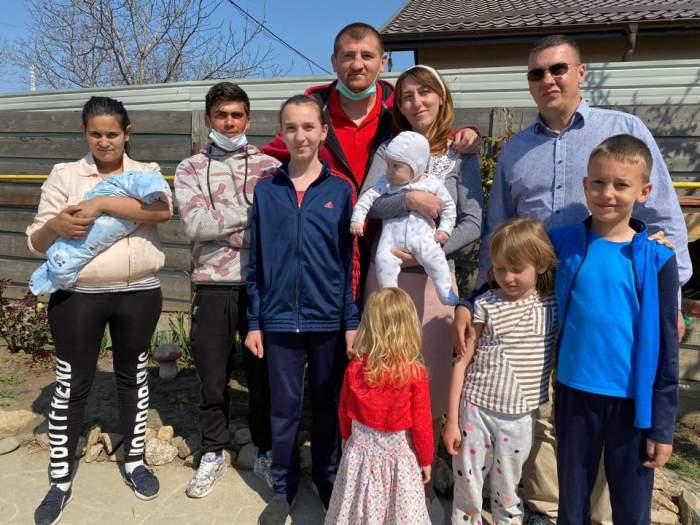 Tânărul din Iași a izbucnit în plâns, după ce s-a mutat în casa cumpărată de Cătălin Moroșanu
