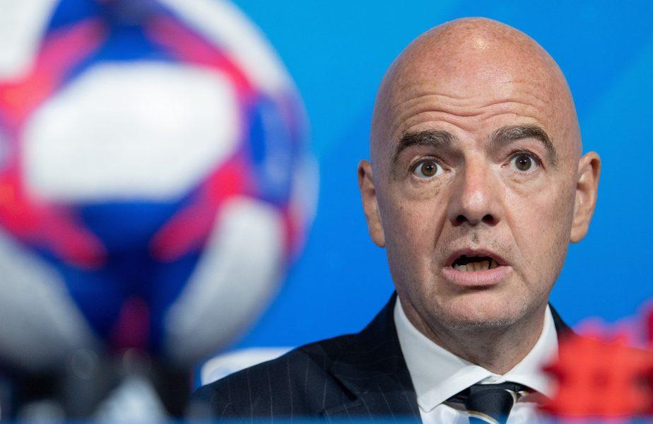 """Președintele FIFA, noi precizări despre reluarea fotbalulul: """"Toată lumea ar trebui să țină cont de asta"""""""