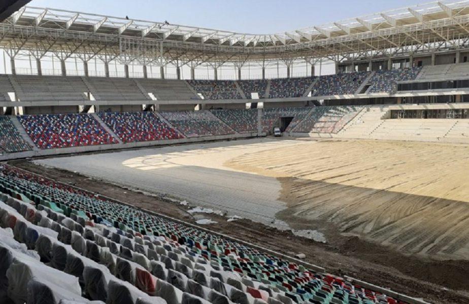 Se montează scaunele pe noul stadion din Ghencea. Stadiul lucrărilor pe toate arenele din Capitală