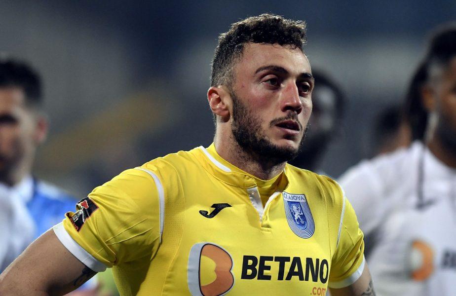 Mirko Pigliacelli vrea să plece de la Universitatea Craiova. Unde speră să ajungă italianul