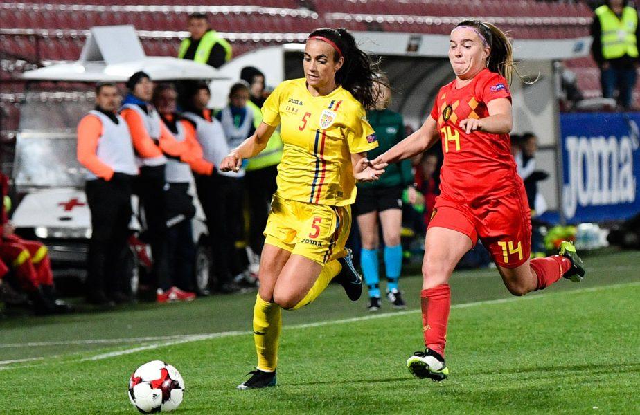 """Teodora Meluță, despre fotbalul feminin din România: """"Câștig o sumă acceptabilă, dar nu există comparație!"""""""