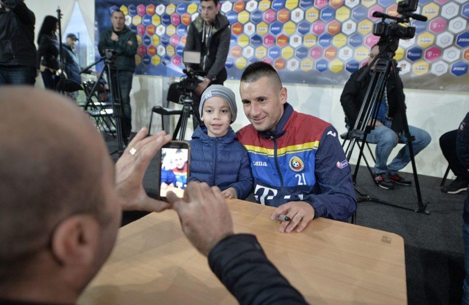Dragoș Grigore este în culmea fericirii. Soția internaționalului român a născut o fetiță