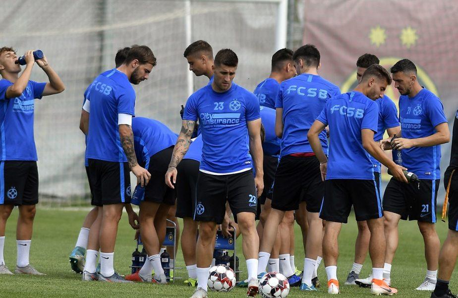 FCSB continuă antrenamentele! Patru fotbaliști, la baza din Berceni