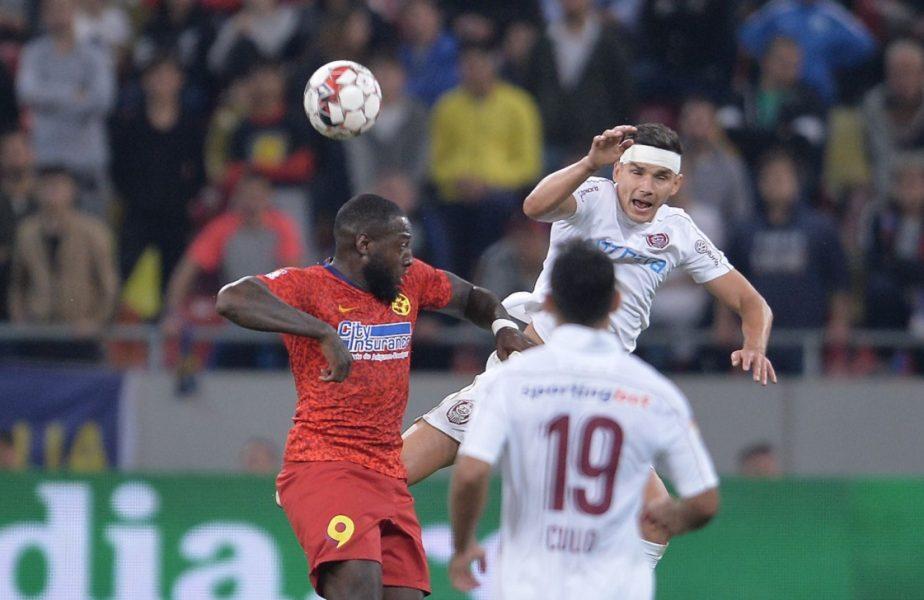 Harlem Gnohere a luat-o peste picior pe CFR Cluj. Atacantul lui FCSB, amuzat de stilul lui Dan Petrescu
