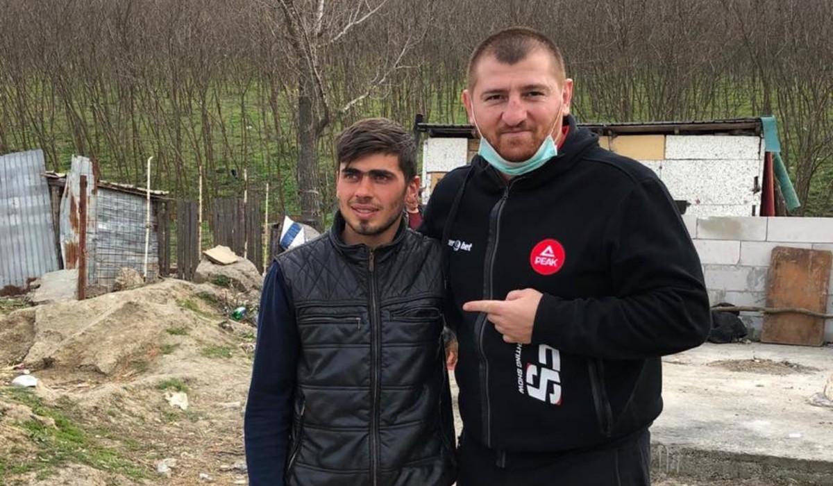 Moroșanu îl ajută pe Sergiu