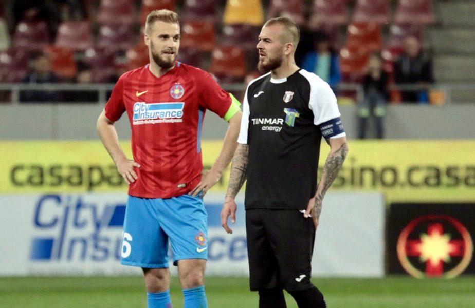 Două super-puteri luptă pentru transferul lui Bogdan Planic, de la FCSB. Cât cere Becali pentru fundașul sârb