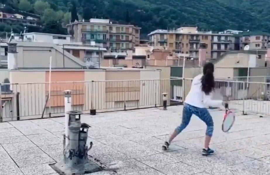 VIDEO | Cum se joacă tenis pe timpul pandemiei. Scene incredibile în Italia