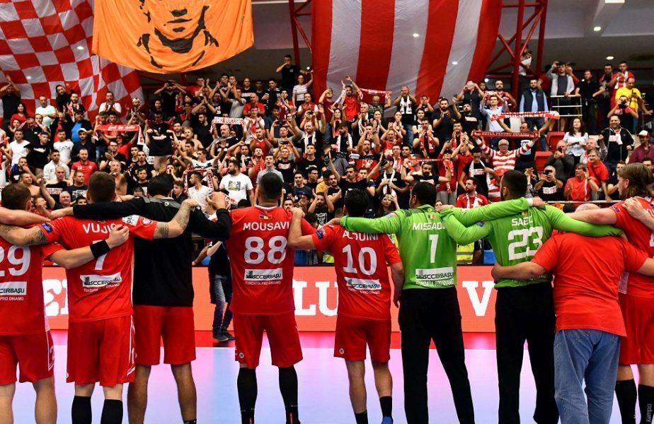 Handbaliștii lui Dinamo și-au vândut tricourile la licitație. Ce sumă au obținut și ce au făcut cu banii