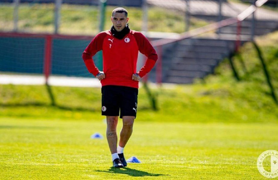 VIDEO | Nicușor Stanciu a revenit pe gazon. Slavia Praga a început antrenamentele