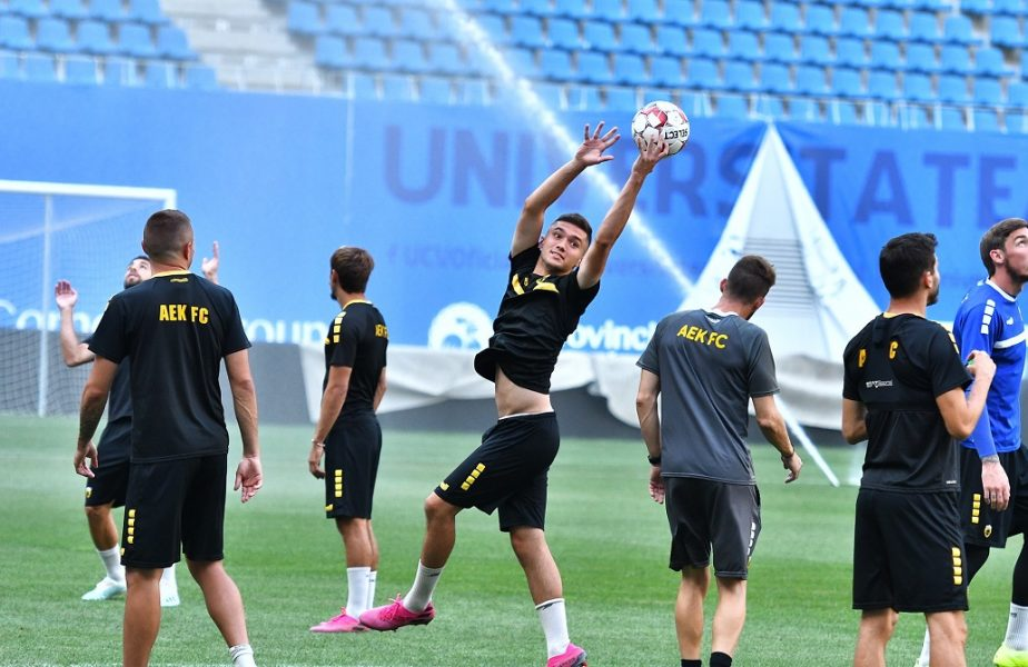 Jucătorii Craiovei se antrenează la baza din Lunca Jiului