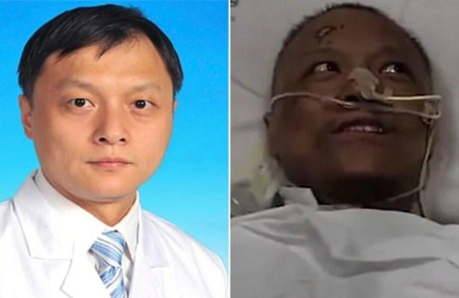 Cazul incredibil al celor doi doctori din Wuhan care și-au schimbat culoarea pielii după ce au fost infectați!