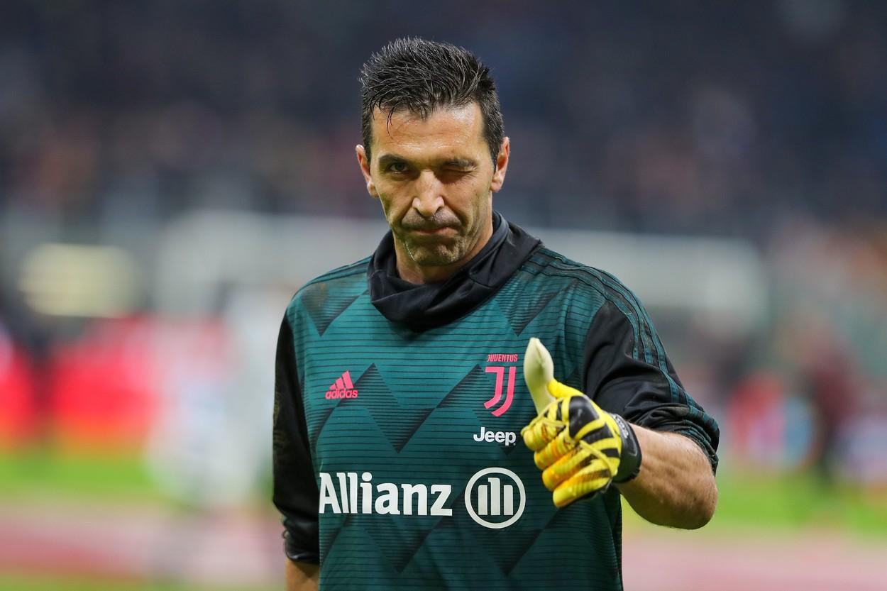 Buffon joacă la Juventus