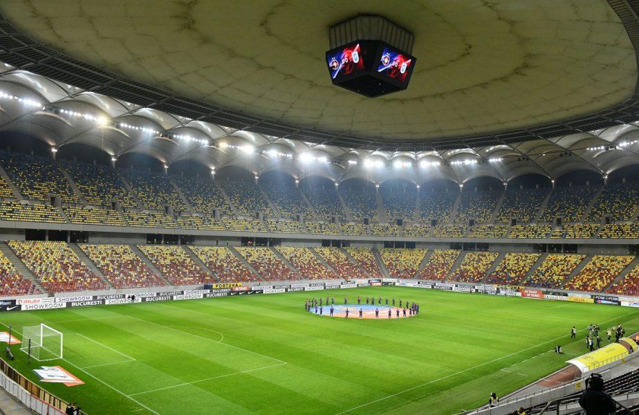 Arena Națională, înaintea unui meci