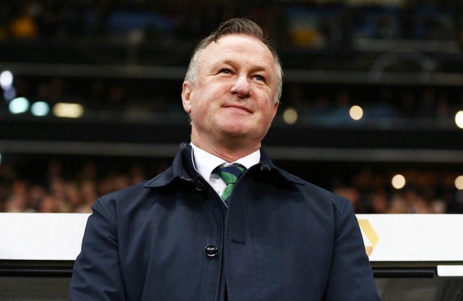 Irlanda de Nord va avea un alt selecționer la meciul cu România. Michael O'Neill pleacă de la conducerea naționalei