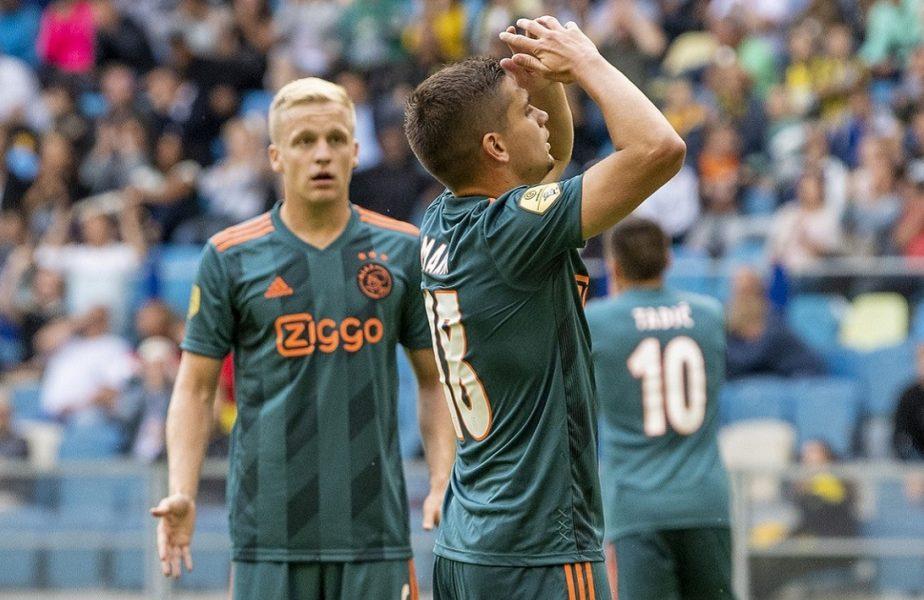 OFICIAL | Campionatul Olandei, încheiat din cauza pandemiei. Răzvan Marin nu va fi campion cu Ajax