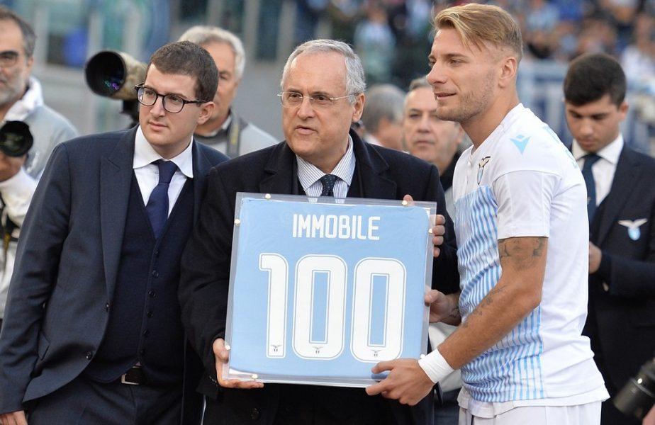 """Lazio anunță că economia Italiei depinde de reluarea campionatului. """"La mijloc sunt 1.2 miliarde de euro"""""""