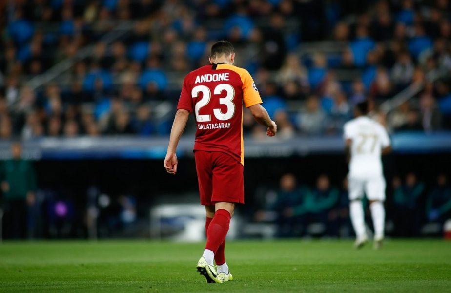 Galatasaray nu îi plătește clauza lui Florin Andone din cauza pandemiei. Românul a fost deja înștiințat