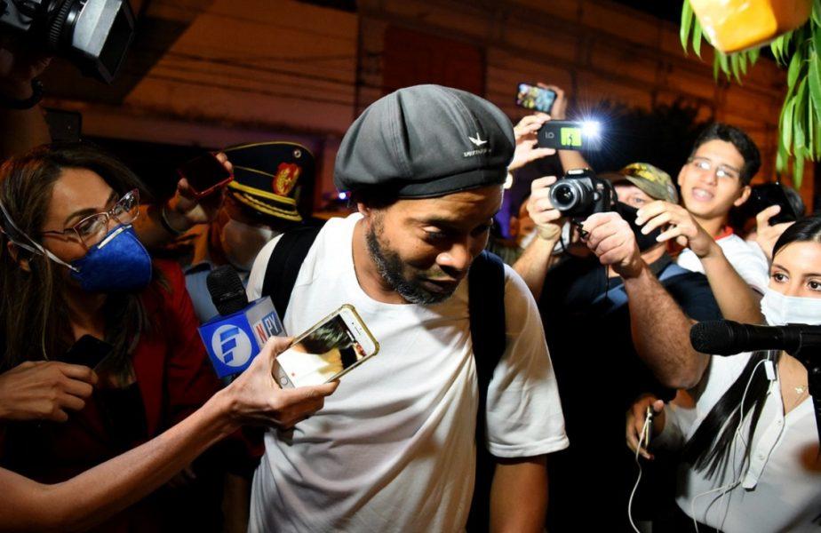 """Ronaldinho a oferit primul interviu după ieșirea din închisoare. """"A fost o lovitură uriașă pentru mine!"""""""