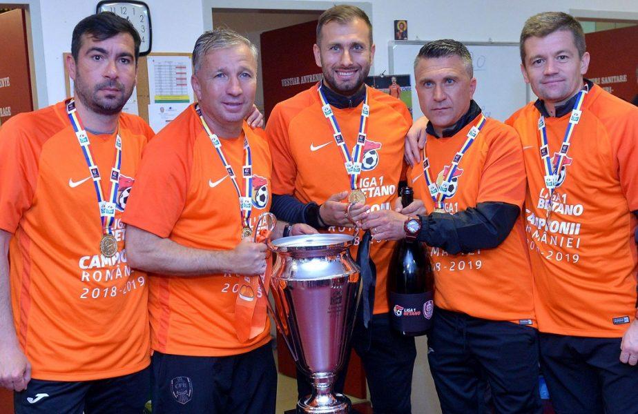 CFR Cluj și-a dat afară antrenorul secund! Reacția lui Dan Petrescu
