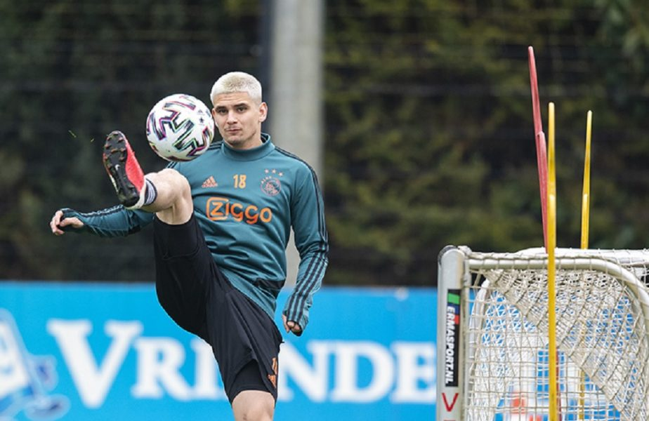 Răzvan Marin a revenit la antrenamente. Ajax s-a reunit, chiar dacă sezonul a fost amânat!