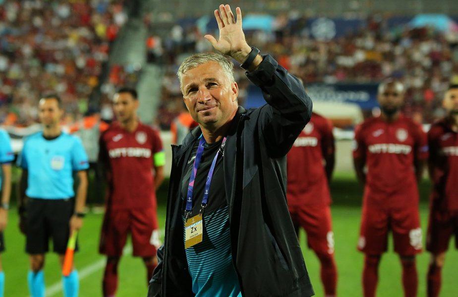 """Dan Petrescu așteaptă titlul la CFR Cluj: """"Nu cred că s-ar supăra nimeni"""""""