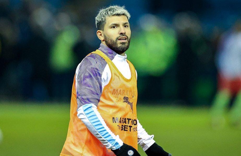 """Sergio Aguero nu vrea să iasă din casă până la apariția vaccinului împotriva Covid-19. """"Și ceilalți jucători sunt speriați"""""""