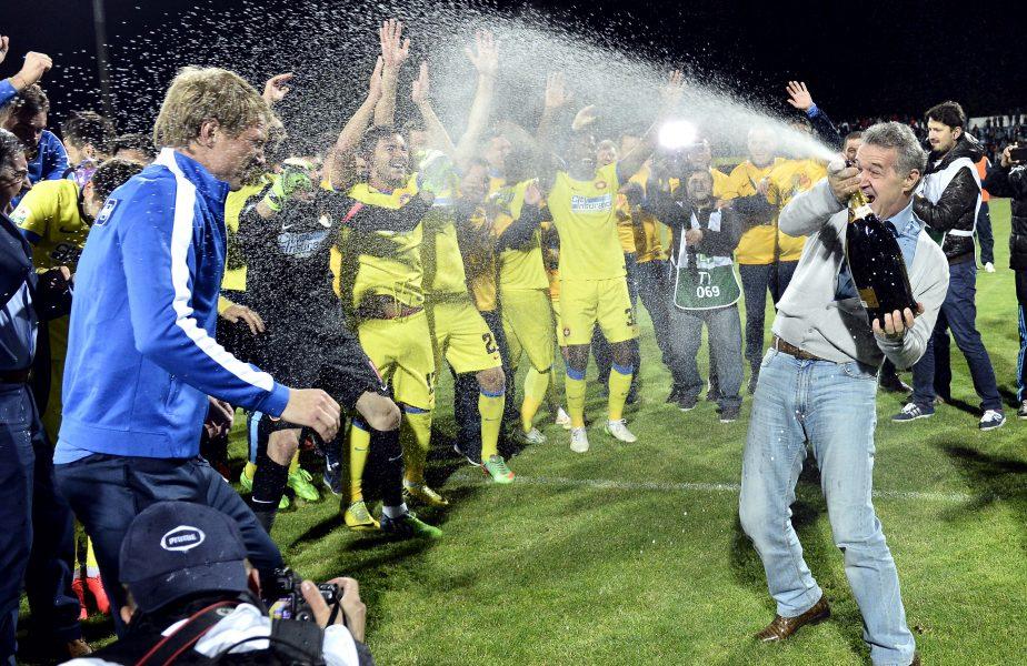Gigi Becali a fost refuzat, după ce a vrut să organizeze petrecerea pentru sărbătorirea câștigării Cupei Campionilor