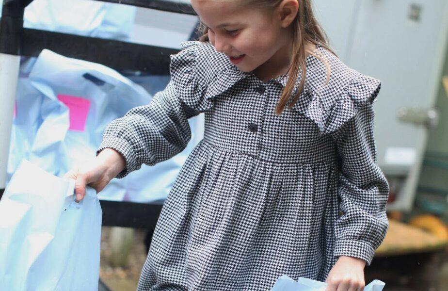 FOTO | Gest plin de emoție făcut de fiica prințului William și a Ducesei de Cambridge în ziua în care a împlinit 5 ani. Imaginile s-au viralizat