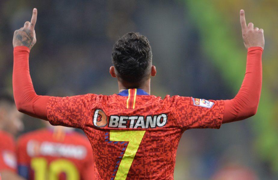 """Gigi Becali speră la transferul de milioane al lui Florinel Coman! """"E unul dintre jucătorii cei mai interesanți de pe scena europeană"""""""