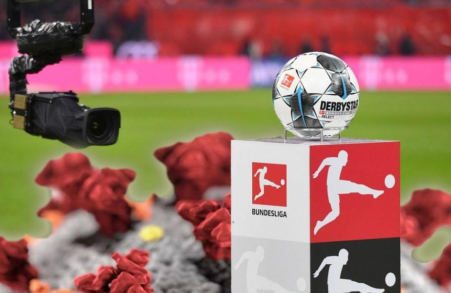 Probleme mari în primele două ligi din Germania. 10 persoane au fost testate pozitiv cu coronavirus!