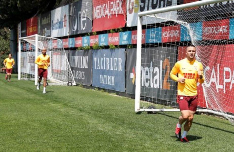 Surpriză în Turcia. Florin Andone a revenit la antrenamentele lui Galatasaray