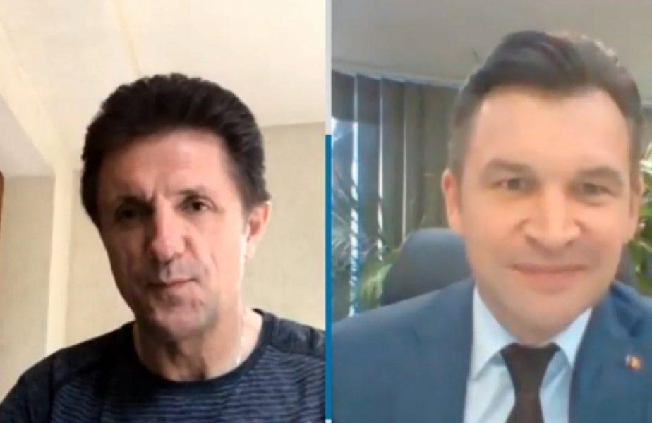 Dialog aprins între Gică Popescu și Ionuț Stroe! Liga 1, în pericol
