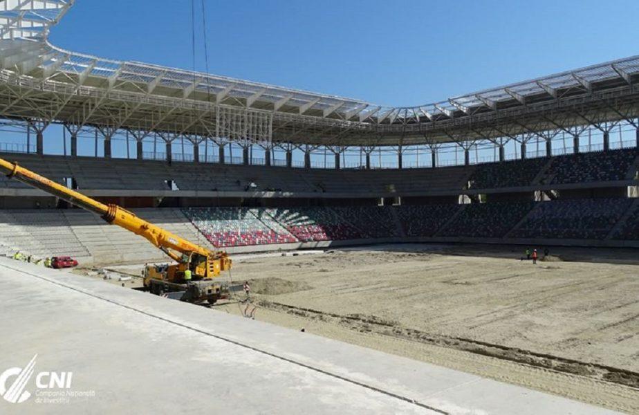 VIDEO | Noul stadion din Ghencea are tabela funcțională. Primele imagini care au rulat în interiorul arenei de 100 de milioane de euro