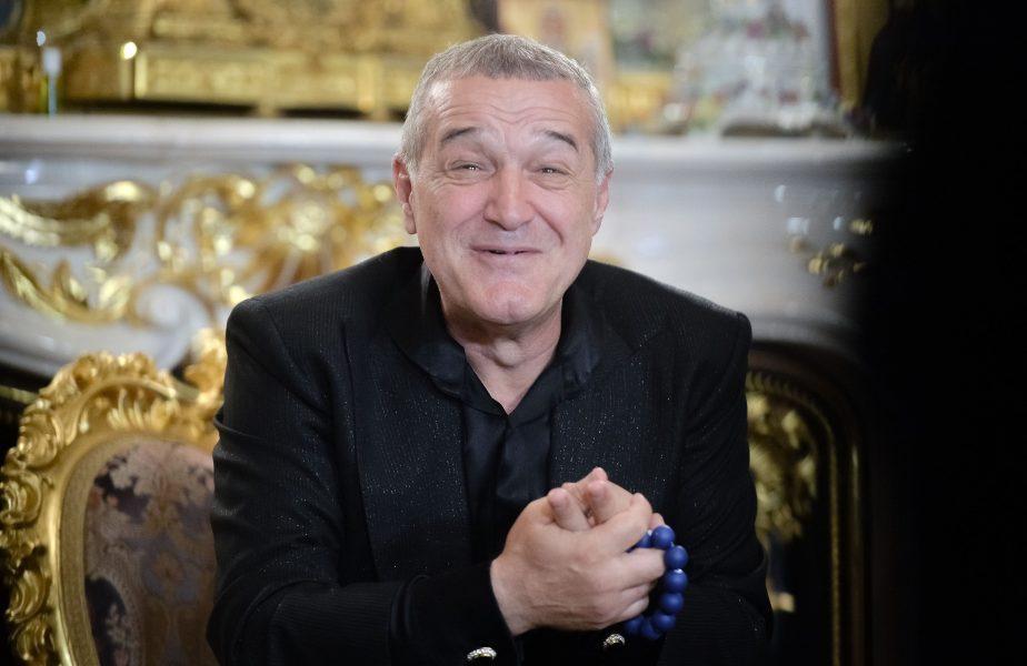 """Gigi Becali îl cinstește pe Valeriu Iftime! """"Mă întâlnesc cu el să bem o șampanie"""" FCSB are nevoie ca Botoșani să o încurce pe CFR Cluj"""