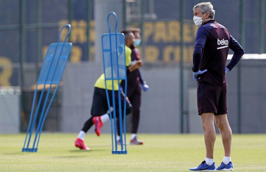 """Cele mai sumbre previziuni se adeveresc. Jucătorii încep să se """"rupă"""" la antrenamente. A pățit-o și un fundaș al Barcelonei"""