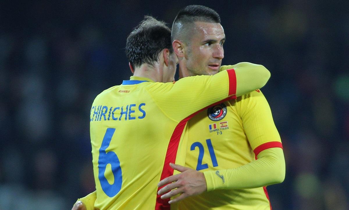 Dragoș Grigore, îmbrățișat de Vlad Chiricheș
