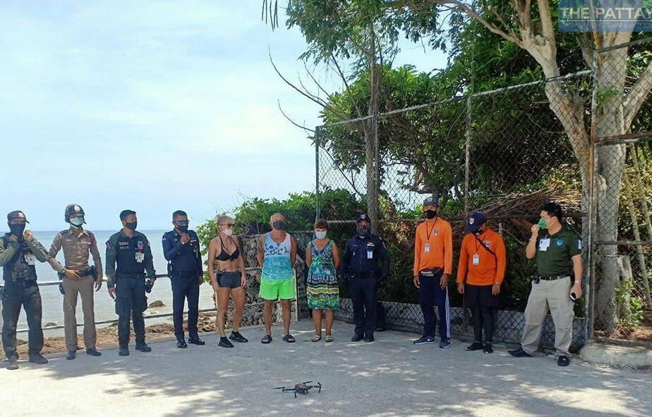 Trei persoane arestate după ce nu au mai rezistat și au intrat să facă o baie, deși Poliția striga la ele de pe plajă