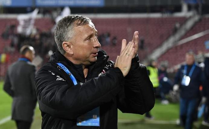 Dan Petrescu, la finalul unui meci