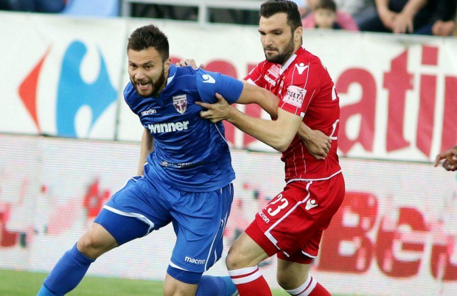 Ionuț Șerban, tentat cu postul de titular la Dinamo. Promisiunea pe care i-a făcut-o Adrian Mihalcea