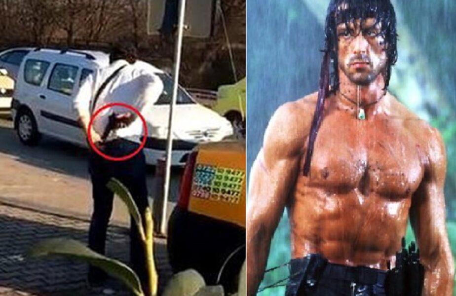 """""""Rambo"""" din Bârlad, condamnat la închisoare. A încercat să jefuiască niște tineri, dar s-a ales cu dinții sparți"""