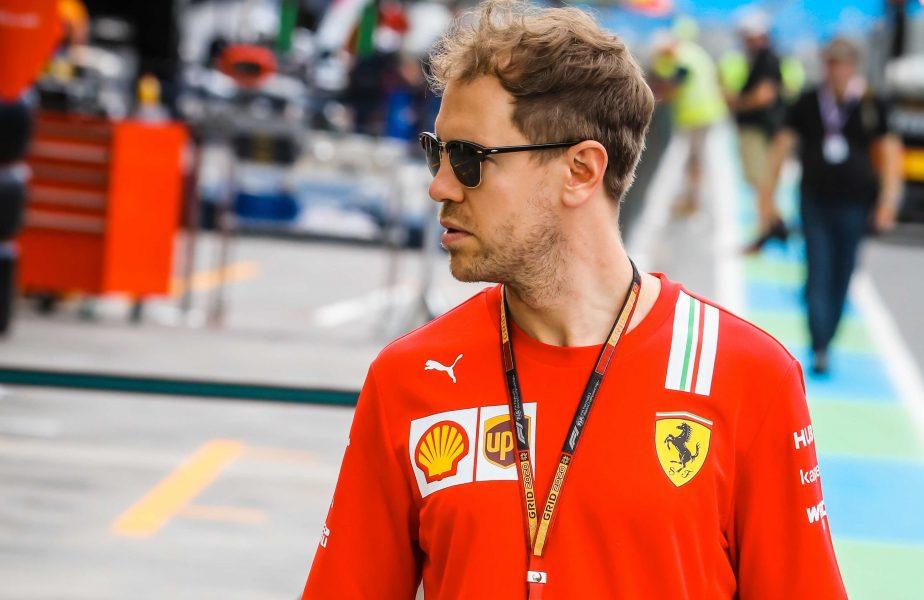 """Sebastian Vettel pleacă de la Ferrari! Anunțul oficial făcut de pilot. """"Nu mai există dorința comună"""""""