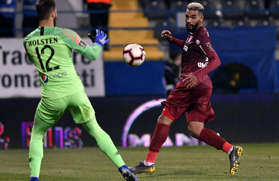 Billel Omrani poate pleca de la CFR Cluj! Ofertă din La Liga pentru atacantul campioanei