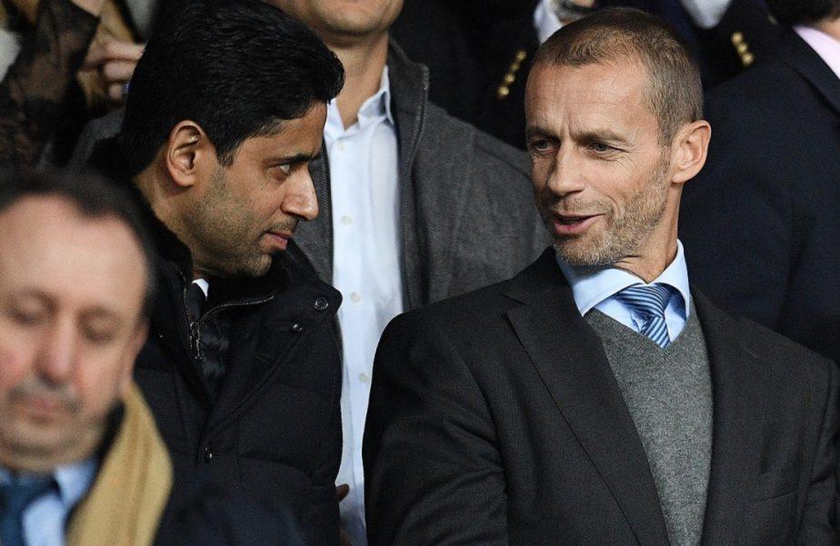 Președintele UEFA îi arată cu degetul pe francezi. De ce crede că PSG și Marseille vor avea probleme