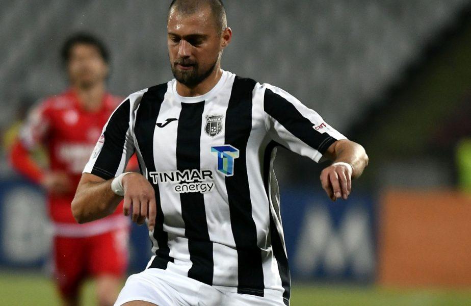 Gabi Tamaș, în timpul unui meci