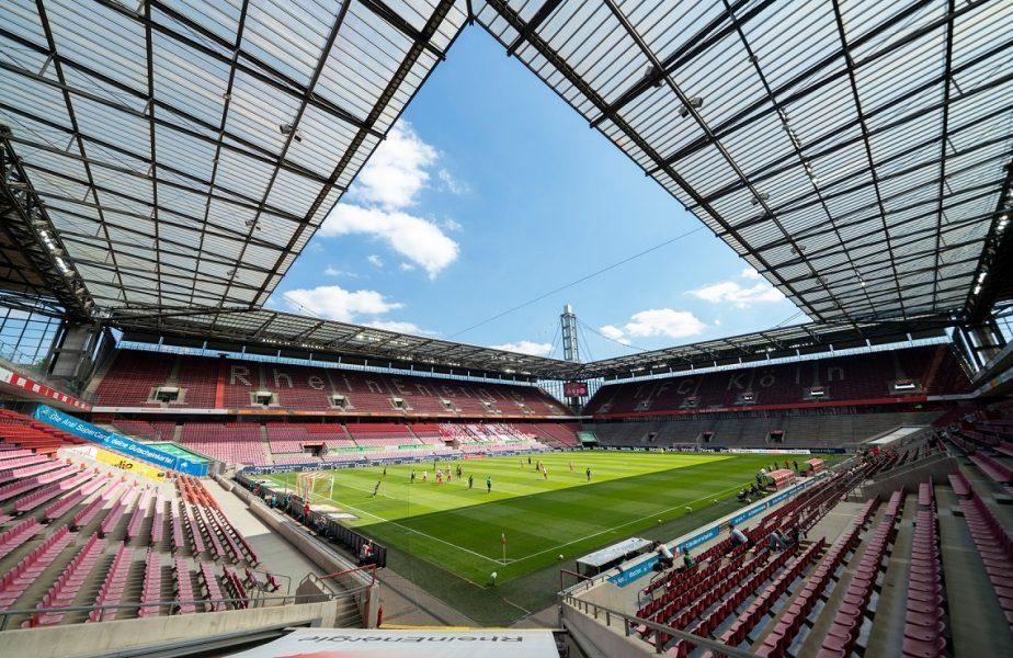 """Imagini de colecție. Ce """"fani"""" a avut FC Koln, în tribună, la meciul cu Mainz!"""