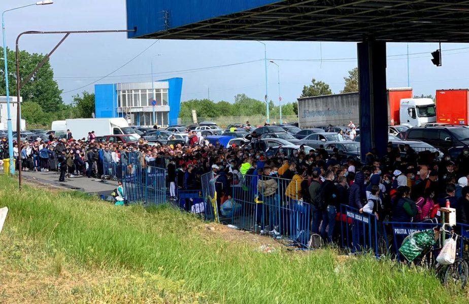 """Gigi Becali, contrariat de ce se întâmplă la Vama Nădlac! """"Mii şi mii de oameni trec graniţa, iar pe noi nu ne laşi în pace"""""""