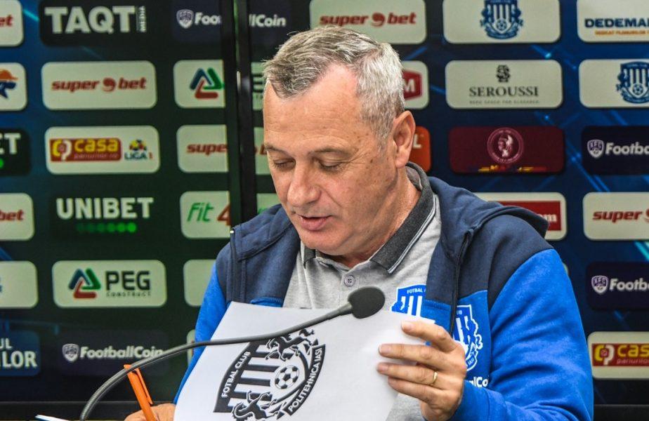 """Oficial îi merge bine! Mircea Rednic, convins să rămână la Iaşi: """"Nici nu avem nevoie de bani! Avem caserolă cu păpică"""""""