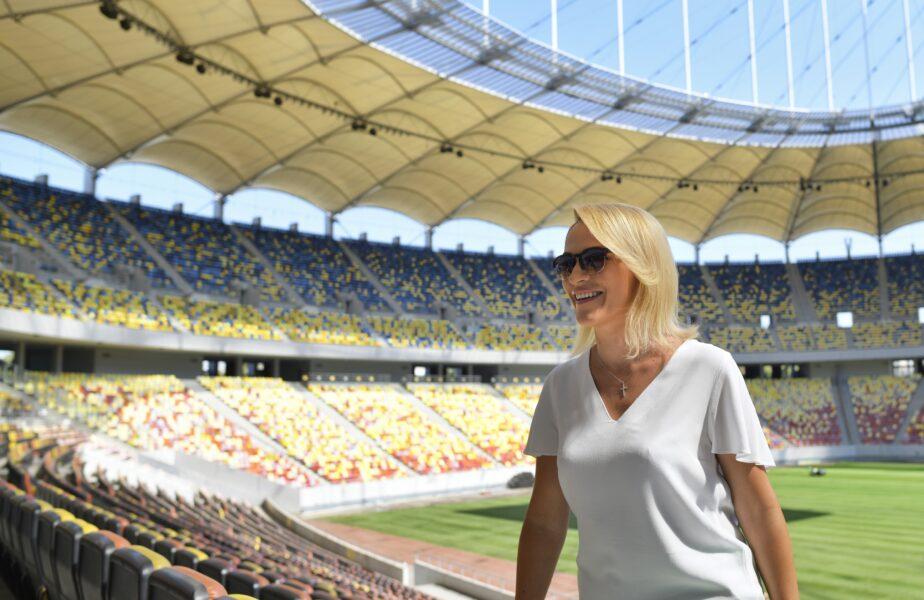 """Gabriela Firea redeschide Arena Naţională! """"Este un spațiu suficient de mare astfel încât să nu existe probleme cu distanțarea socială"""""""