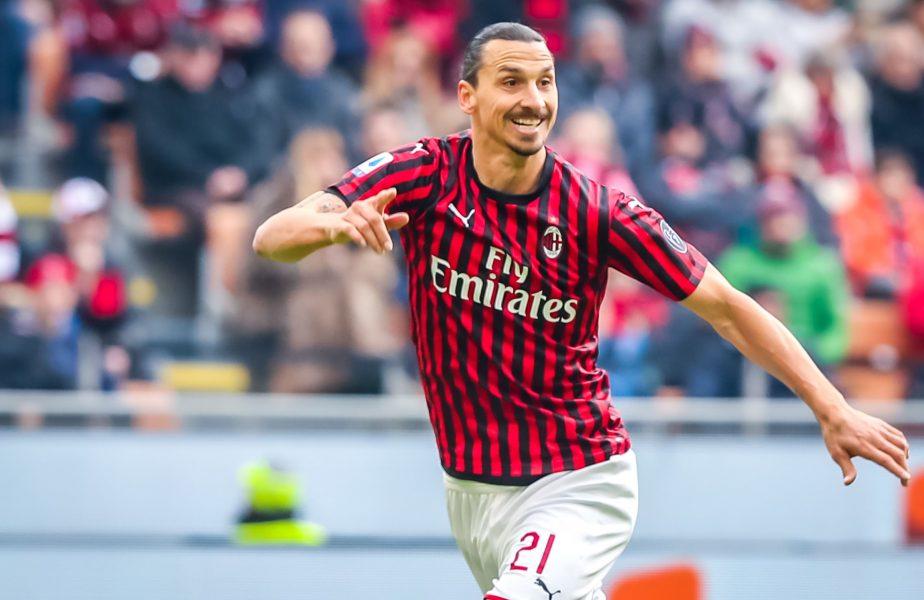 Zlatan Ibrahimovic s-a accidentat imediat după ieșirea din carantină. Ce se întâmplă cu starul lui Milan